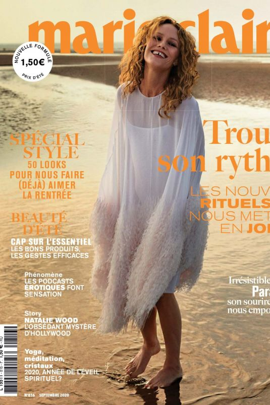 VANESSA PARADIS in Marie Claire Magazine, France September 2020