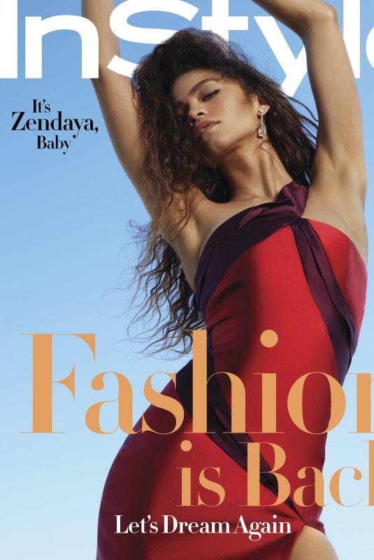 ZENDAYA in Instyle Magazine, September 2020