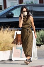 ABIGAIL SPENCER Out and About in Brentwood 09/17/2020