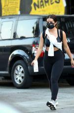 ADDISON RAE Arrives at Dogpound Gym in West Hollywood 09/17/2020