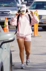 ADDISON RAE Heading to a Gym in West Hollywood 09/25/2020