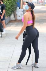ADDISON RAE Leaves a Private Workout in West Hollywood 09/15/2020