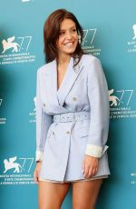 ADELE EXARCHOPOULOS at Mandibules Photocall at 77th Venice Film Festival 09/05/2020