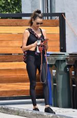 ALESSANDRA AMBROSIO at a Gym in Los Angeles 09/14/2020