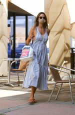 ALESSANDRA AMBROSIO at a Skin Care Clinic in Los Angeles 09/22/2020