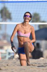ALESSANDRA AMBROSIO in Bikini at a Beach in Santa Monica 09/19/2020