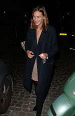 ALEXA CHUNG Leaves Chiltern Firehouse in London 09/17/2020