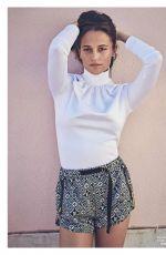 ALICIA VIKANDER in Elle Magazine, France September 2020