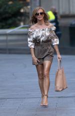 AMANDA HOLDEN Arrives at Global Radio in London 09/14/2020