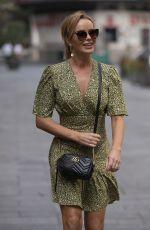 AMANDA HOLDEN Arrives at Heart Radio in London 09/16/2020