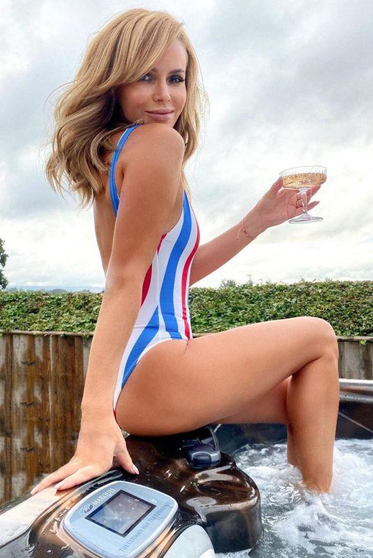 AMANDA HOLDEN in Swimsuit – Instagram photo 09/08/2020