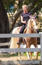 AMBER HEARD at Horseback Riding in Los Angeles 09/23/2020