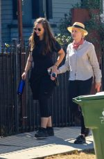 AMBER HEARD Out Hikinig at Elysian Park in Los Angeles 09/01/2020