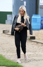 AMBER TURNER on the Set of The Only Way is Essex 09/06/2020