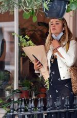 AMELIA WINDSOR Buying Flowers Out in London 09/02/2020