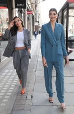 AMY JACKSON Out in Regent Street 09/02/2020