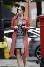 AMY WREN, CATHERINE TYLDELSY and ALEXANDRA ROACH on the Set of New ITV Drama Viewpoint in Manchester 09/03/2020