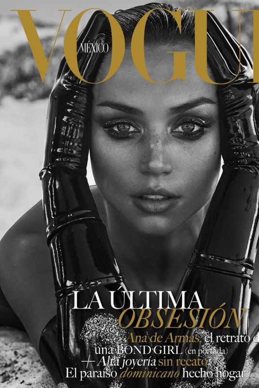ANA DE ARMAS in Vogue Magazine, Mexico 2020