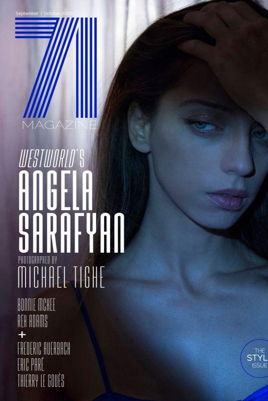 ANGELA SARAFYAN for 71 Magazine, September/October 2020