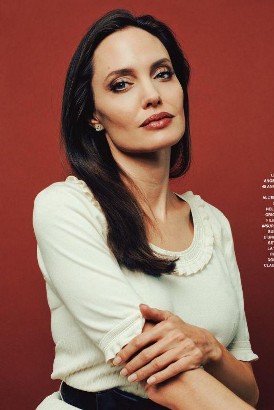 ANGELINA JOLIE in Grazia Magazine, Italy September 2020