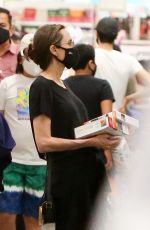ANGELINA JOLIE Out Shopping in West Hollywood 09/19/2020