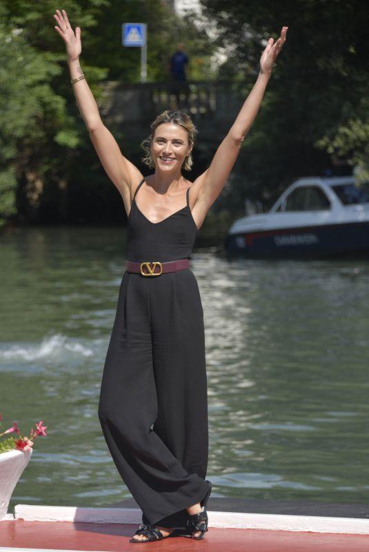 ANNA FOGLIETTA Arrives at Hotel Excelsior in Venice 09/05/2020