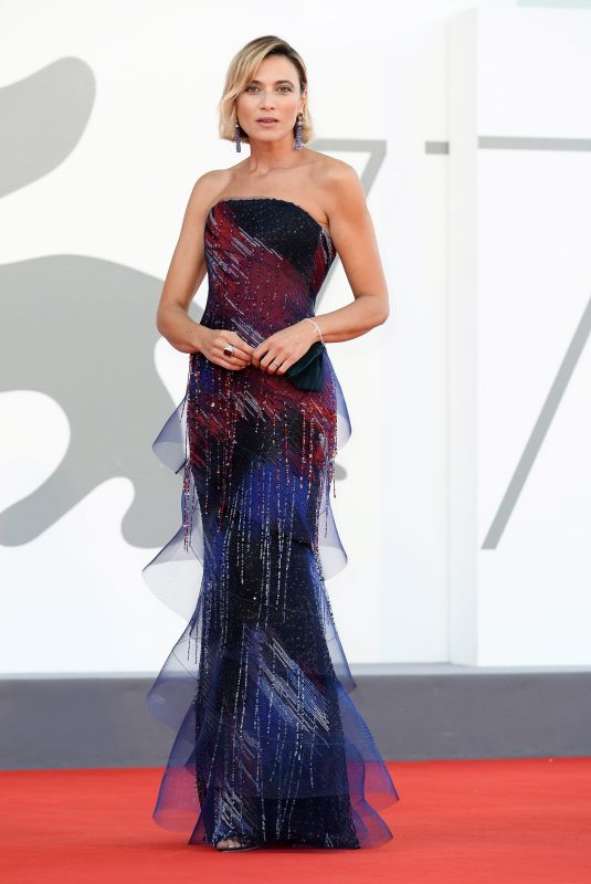 ANNA FOGLIETTA at 77th Venice Film Festival Closing Ceremony 09/12/2020