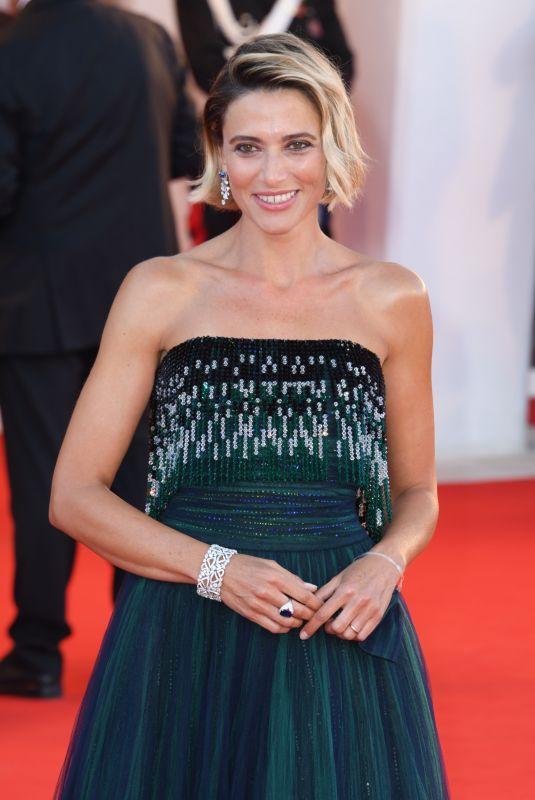 ANNA FOGLIETTA at 77th Venice Film Festival Opening Ceremony 09/02/2020