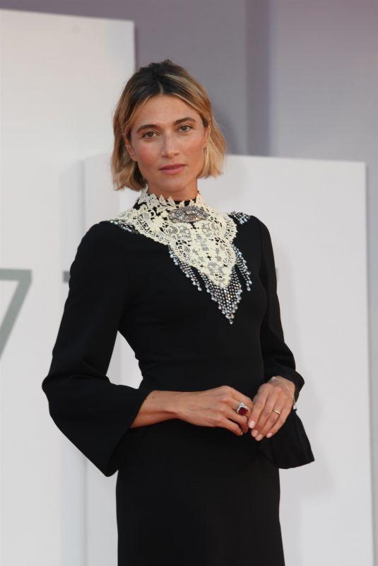 ANNA FOGLIETTA at Notturno Premiere at 2020 Venice Film Festival 09/08/2020