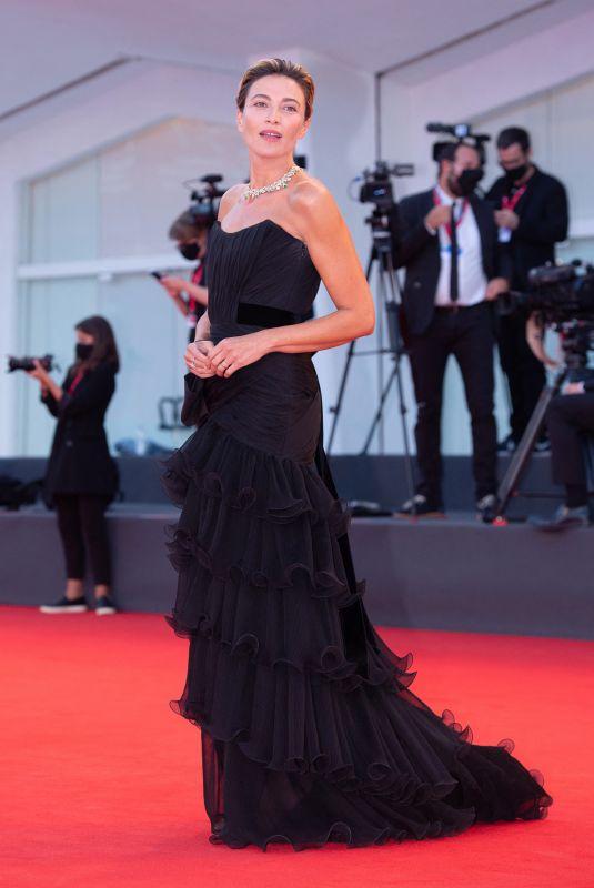 ANNA FOGLIETTA at Padrenostro Premiere at 2020 Venice Film Festival 09/04/2020