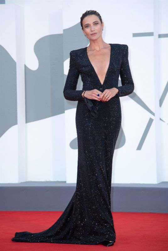 ANNA FOGLIETTA at The World To Come Premiere at 77th Venice Film Festival 09/06/2020