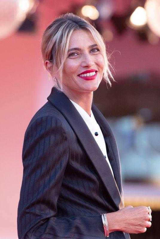 ANNA GOGLIETTA at Patroness Red Carpet at 2020 Venice Film Festival 09/01/2020