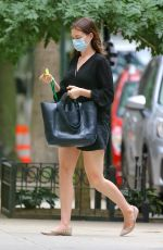 ANNE HATHAWAY Out and About in New York 09/17/2020