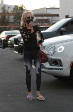 ANNE HECHE at Dancing with the Stars Rehersal in Los Angeles 09/29/2020