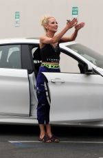 ANNE HECHE at DWTS Studio in Los Angeles 09/11/2020
