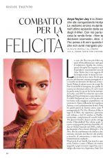 ANYA TAYLOR-JOY in Grazia Magazine, Italy September 2020