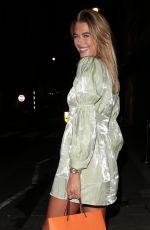 ARABELLA CHI Leaves IT Restaurant in London 09/22/2020
