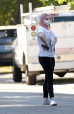 ARIEL WINTER and Luke Benward Out House Hunting in Los Angeles 09/26/2020