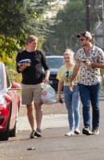 ARIEL WINTER Out with Friends in Los Angeles 09/27/2020