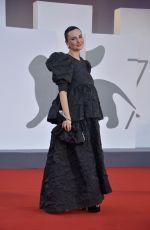 ARISA at Padrenostro Premiere at 2020 Venice Film Festival 09/04/2020