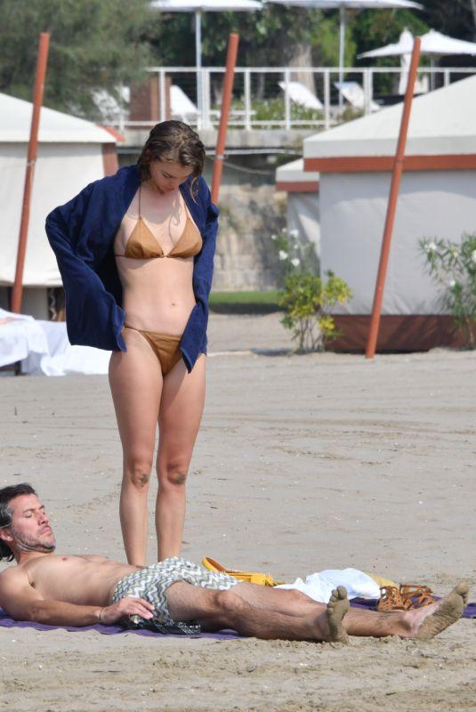 ARIZONA MUSE in Bikini at a Beach in Venice 09/06/2020