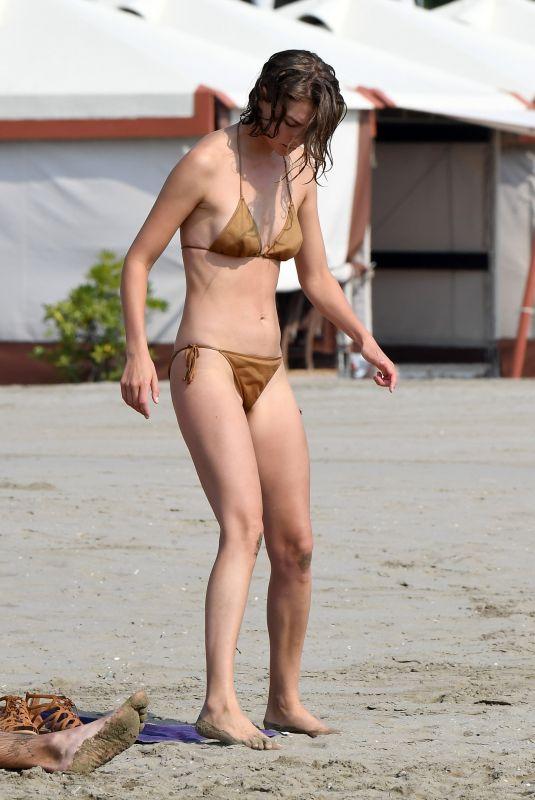 ARIZONA MUSE in Bikini Out on the Beach in Venice 09/05/2020