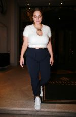 ASHLEY GRAHAM Leaves Her Hotel in Milan 09/23/2020