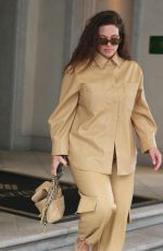 ASHLEY GRAHAM Leaves Her Hotel in Milan 09/24/2020