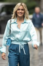 ASHLEY ROBERTS Arrives at Global Radio in London 09/03/2020