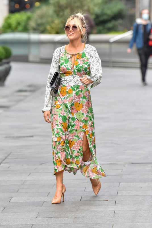 ASHLEY ROBERTS Arrives at Global Radio in London 09/16/2020