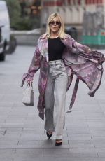 ASHLEY ROBERTS Arrives at Heart Radio in London 09/23/2020