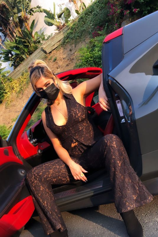 BEBE REXHA in Her New Ferrari - Instagram Photos 09/18/2020