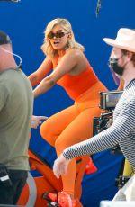 BEBE REXHA on the Set of JBL Headgear in Los Angeles 09/28/2020