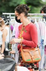 BELLA HADID Shopping at Black Lives Matter Charity Event in New York 09/27/2020